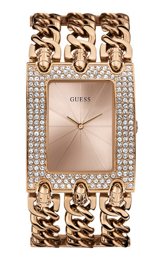 timeless design 3ecf8 360c6 Guess Watch rosegold plated