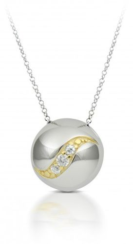 Sphere of Life - SH60033 - Flow 925 Kette mit Anhänger