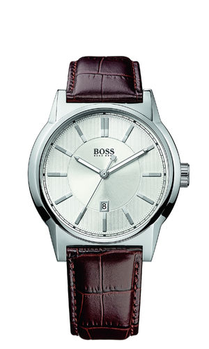 Boss - 1512912 - Architecture Round Herrenuhr