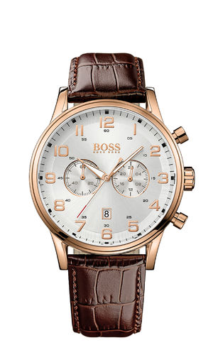 Boss - 1512921 - AEROLINER CHRONO Herrenuhr
