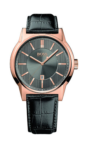 Boss - 1513073 - Herrenuhr ARCHITECTURE ROUND
