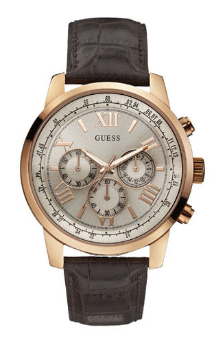 GUESS Herrenuhr Horizon Chronograph