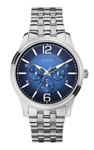 GUESS Herrenuhr Captain Multifunktion