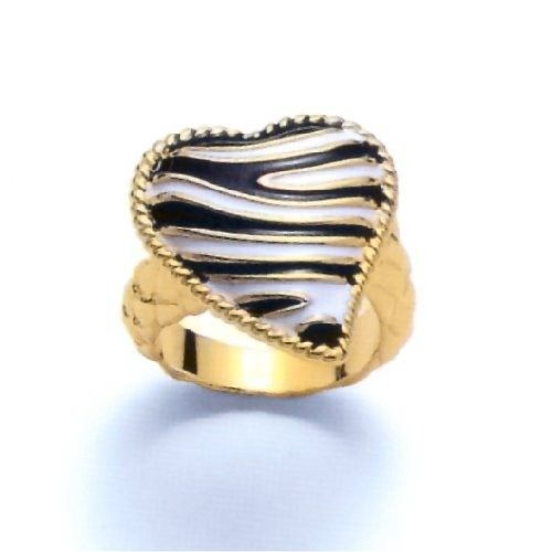 Just Cavalli Just Zebra Ring Gr. 56