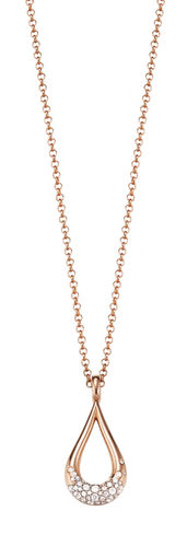 Esprit Glam Drop Rose Kette