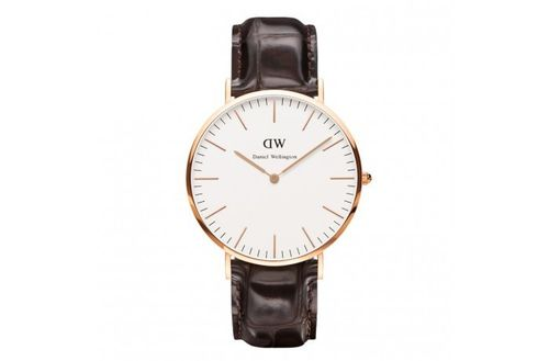 Daniel Wellington - 0111DW - York Herrenuhr rosegold Classic Collection