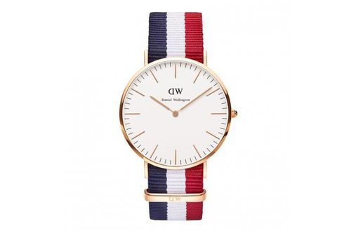 Daniel Wellington  - 0103DW - Cambridge Herrenuhr rosegold Classic Collection