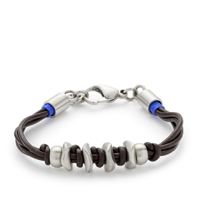 Leonardo - 015256 - Armband Multipio due Men