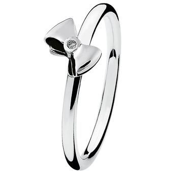 Spinning - PRIMO 15411 - Ring Bow Silber