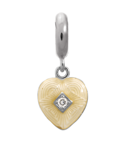 Endless - 1350_2 - White Big Heart Charm Jennifer Lopez Kollektion