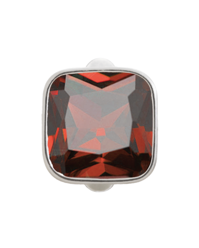 Endless - 41205-2 - Big Garnet Cube Silver