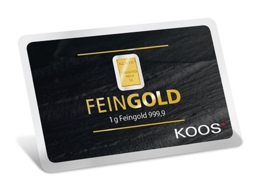 Investment - G10002- 1g Feingoldbarren